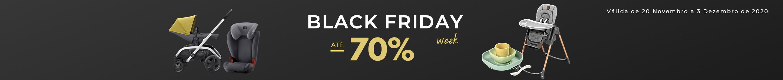 Black Friday - Descontos até 70% numa seleção das melhores marcas de puericultura