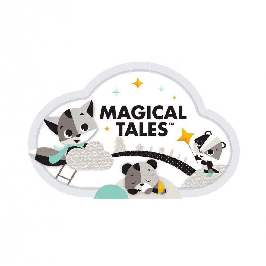 TAPETE DE ATIVIDADES GYMINI BLACK & WHITE MAGICAL TALES