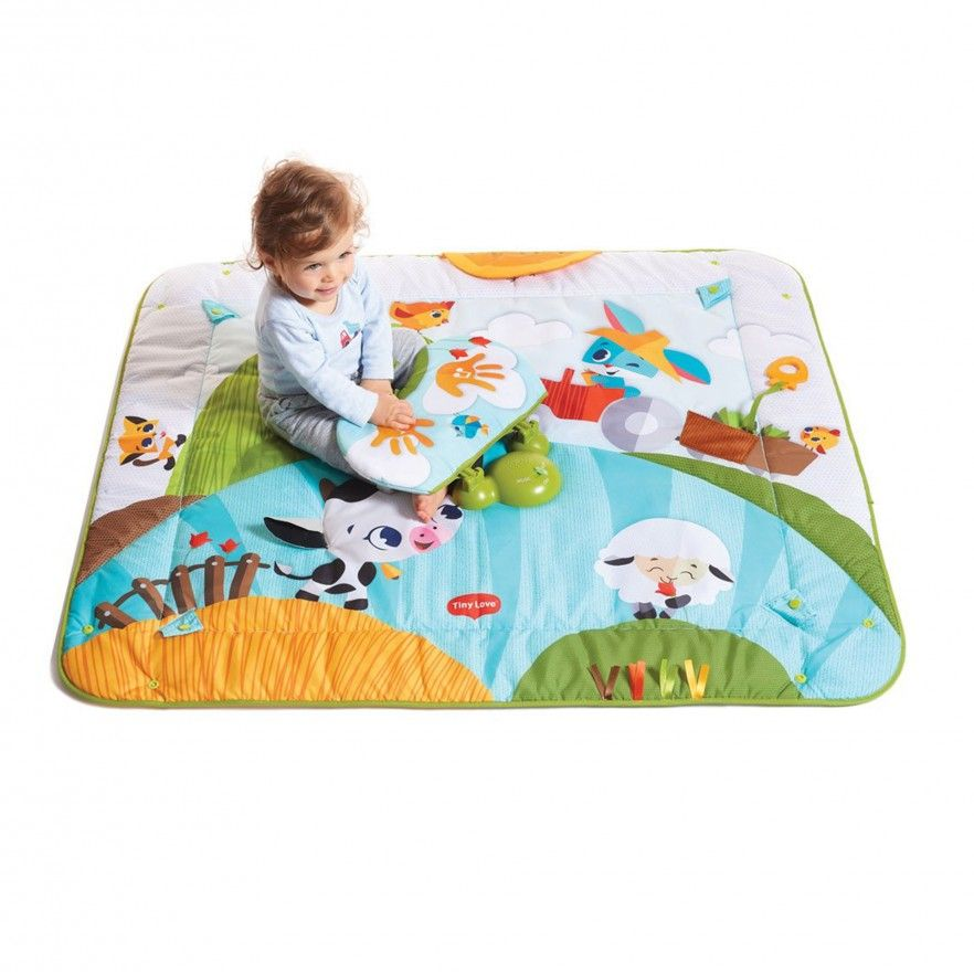 TAPETE GYMINI KICK AND PLAY FARM