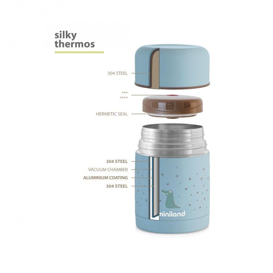 SILKY FOOD THERMOS 600ML