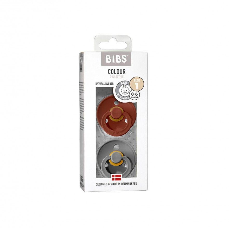 CHUPETAS BIBS COLOURS RUST/SMOKE